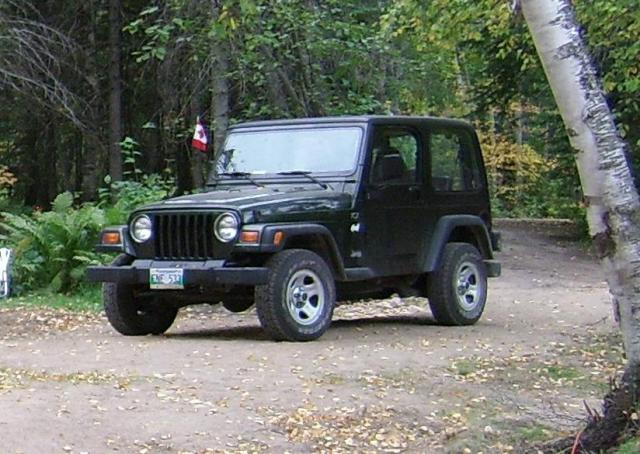Klaus' Jeep