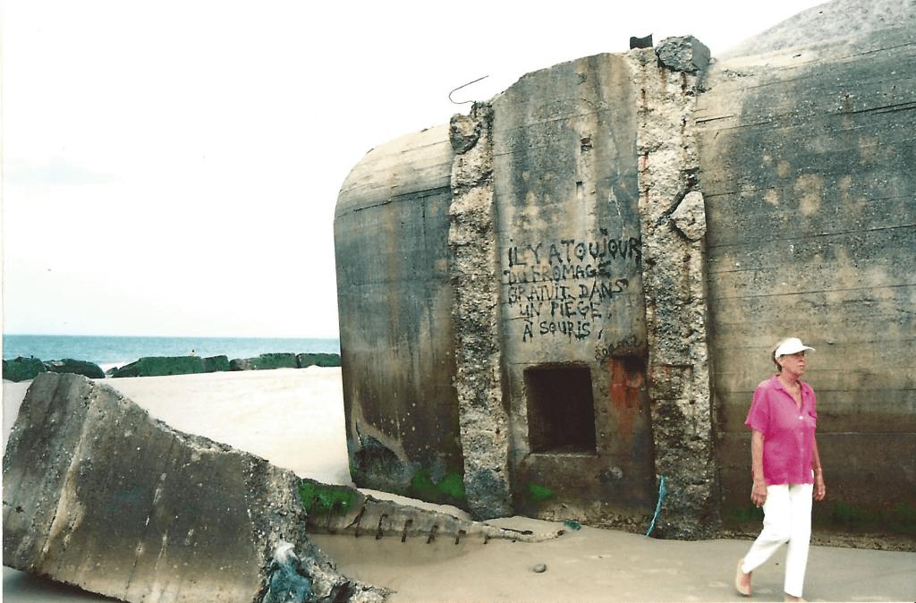 Bunker entlang der Atlantik Küste