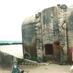 Bunker in der Normandie