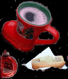 Adventandacht mit Bratwurst und Glühwein