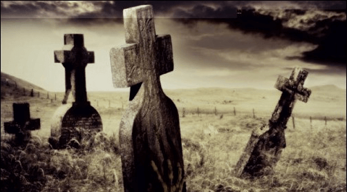Vampire auf dem Friedhof