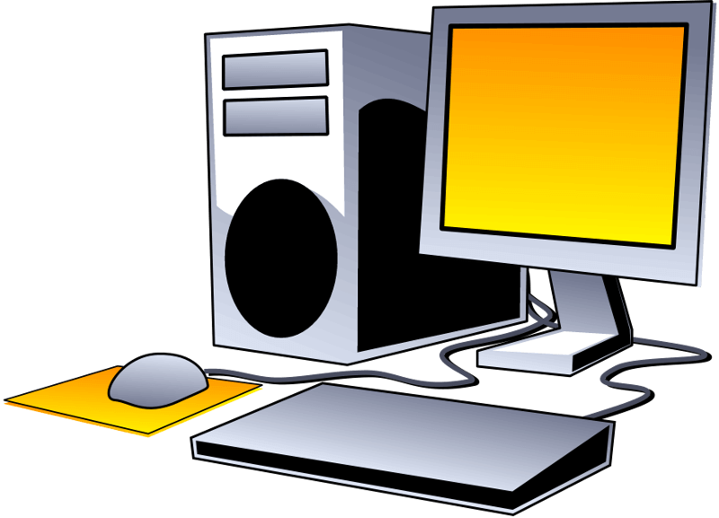 Vernichten Computer Arbeitsplätze
