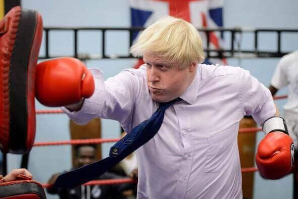 Boris Johnson, der neue britische Außenminister