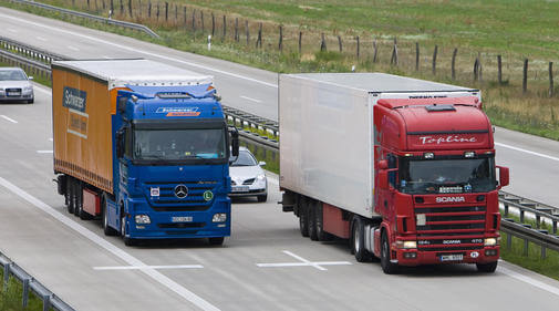 Der Ärger mit den Lastwagen
