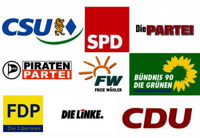 Der dritte Platz bei Bundestags-Wahl? Linken, FDP, AfD, Grünen