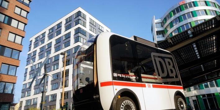 Autonom fahrende Busse im Nahverkehr in Deutschland