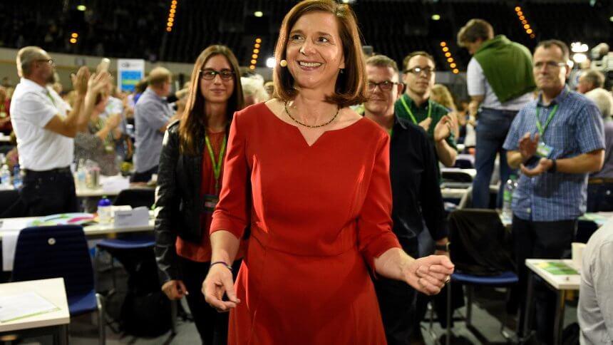 Die Grünen ziehen Bilanz auf ihrem Bundesparteitag