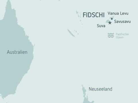 Trinkwasser von den Fidschi Inseln und aus Südafrika