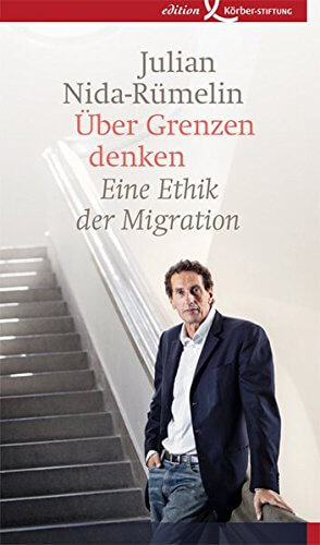 """""""Über Grenzen denken,"""" ein Buch von Nida-Rümelin"""