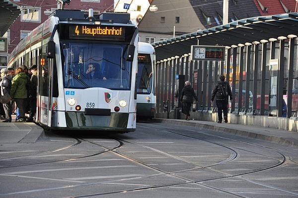 Gratis mit Bus und Straßenbahn in Augsburg