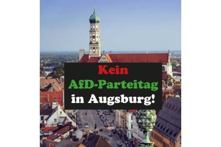 Der AfD Parteitag in Augsburg