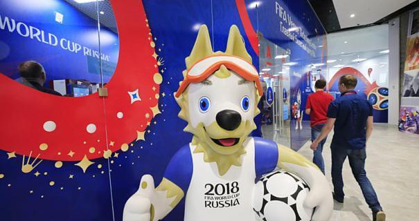 Fussball Fieber in Russland