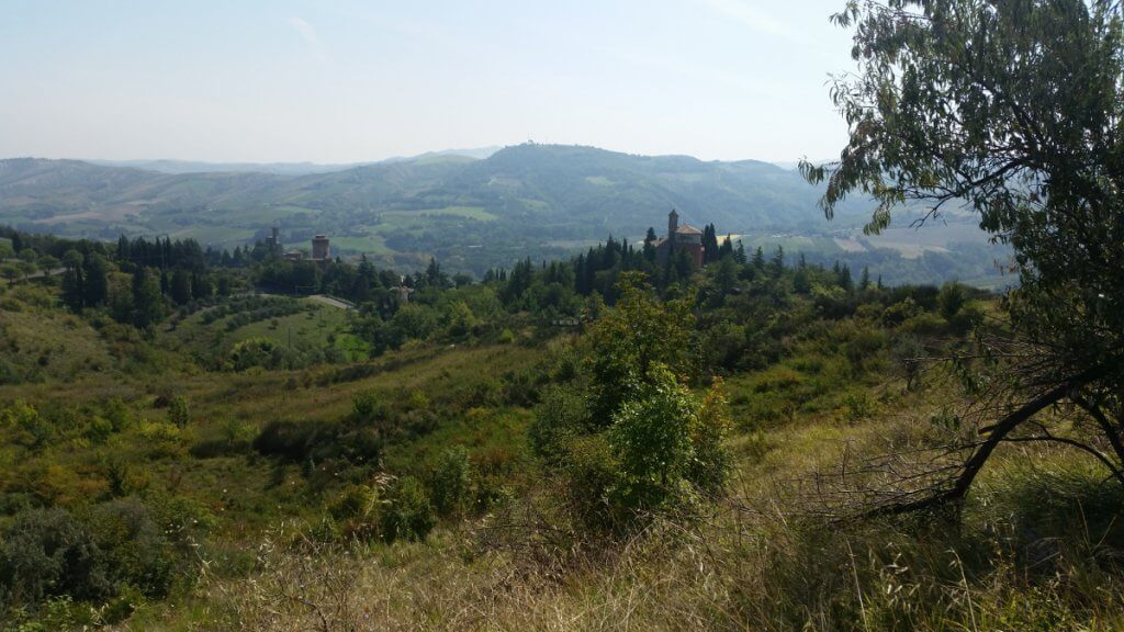 Im Osten des Apennin in Italien