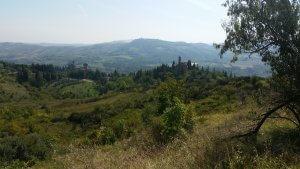 Appenin Italien steile Hügel und Täler