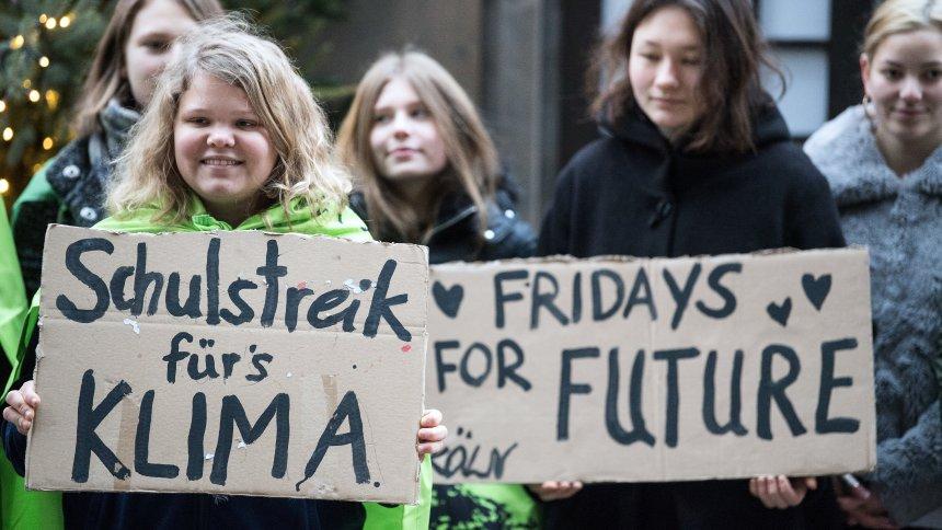Schüler streiken für das Klima