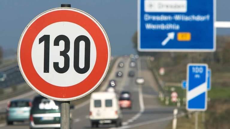 ein Tempolimit auf deutschen Autobahnen
